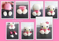 Hello Kitty Tutorial by the talented Gabriela Dolezalova Ostravské Dortíky