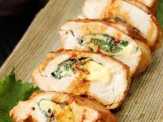 鶏胸肉の大葉チーズ挟み焼きの画像