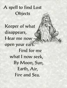 well now, this sounds like a rude spell…. Be respectful to the spirits and the… – Wiccan/Pagan/Celtic – Home crafts