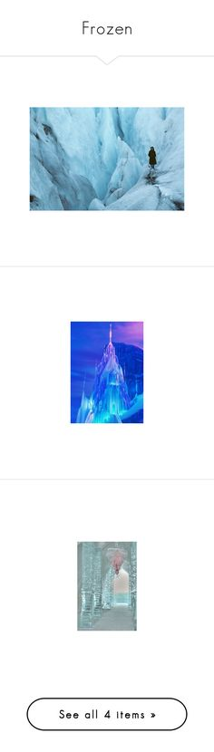 """""""Frozen"""" by fandom-girl365790 ❤ liked on Polyvore featuring backgrounds, pictures, image, disney, frozen, art, elsa, winter, fillers and xmas"""