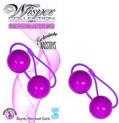 Wisper Collection Nen-Wa Balls - Purple Funtimes209