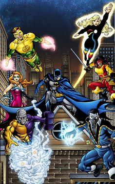 Batman and The Outsiders Comic Art