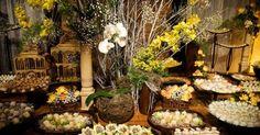 10 opções deliciosas de buffet para casamento ao ar livre
