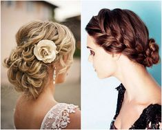 20 Beautiful Bridal Updos - Romantic Wedding Hair for 2013 Brides.