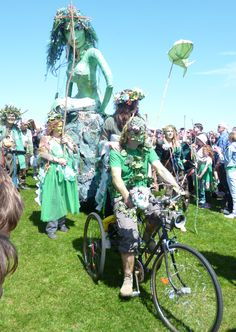 May Jack In the Green 2013 South East England, Pirate Day, May Days, Beltane, Proud Of Me, East Sussex, Bristol, Seaside, Past