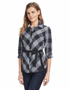 Coupe Collection Women's Madalina Plaid Blouse