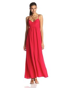 Amanda Uprichard Women's Silk Gown Maxi Dress, Ruby, X-Small Amanda Uprichard http://www.amazon.com/dp/B00M9XZY3Y/ref=cm_sw_r_pi_dp_8xF2ub1WWW33X