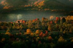 10 - amanecer. Aldea de Maramures en Rumania