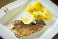 Frisch filetierter Fisch im Hotel Almrausch****  www.almrausch.co.at