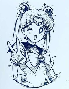 insta Insta can find Sailor moon and more on our website Sailor Moon Tattoos, Sailor Moon S, Sailor Moon Crystal, Desenhos League Of Legends, Dessin Animé Lolirock, Tattoo Drawings, Art Drawings, Manga Tattoo, Tattoo Sketches