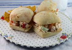 Crunchy Salmon Sandwich Spread is a super easy and flavorful recipe to use up leftover cooked salmon filets (or used canned salmon & GF bread).