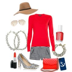 """Sail Away with Me..."" by mindymaesmarket on Polyvore"