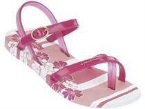 Ipanema fashion sand II kids wit/roze
