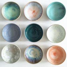 Studio Arhoj_ceramic glazed bowls_Remodelista_current_obsessions - Home Decoration - Interior Design Ideas Ceramic Bowls, Ceramic Pottery, Ceramic Art, Stoneware, Ceramic Studio, Glazed Pottery, Pottery Bowls, Glazed Ceramic, Ceramic Workshop