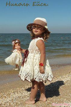Little Girl Dresses, Flower Girl Dresses, Crochet Clothes, Crochet Dresses, Crochet For Kids, Beautiful Crochet, Toddler Dress, Lace Skirt, Wedding Dresses
