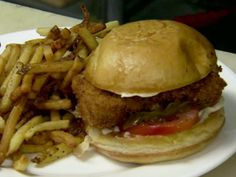 Fish Sandwich with Caramelized Onions Recipe : Robert Irvine : Food Network - FoodNetwork.com
