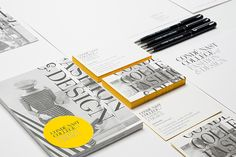 """maybeitsgreat: """" Condé Nast College of Fashion & Design identity, 2013 by Together Design from UK """" Corporate Design, Graphic Design Typography, Identity Design, Visual Identity, Brand Identity, Business Card Design, Creative Business, Planners, Bussiness Card"""