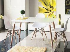 Stačiakampis stalas | KSTA-BAL-BUK-NOLAN-120X80 | Stalai be praplėtimo | Berry Baldai