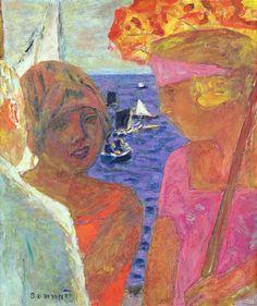 The Conversation at Arcachon, 1926-30, Pierre Bonnard