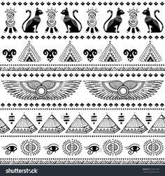Image result for egyptian patterns