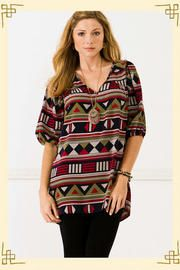 francescascollections.com Shifting Shapes Tunic: $44.00