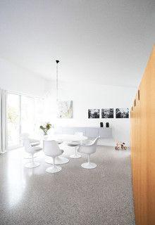 Modern home at the North Sea Coast Belgium with Architect Alexander Dierendonck - modern - dining room - other metro - by ARTerior Design