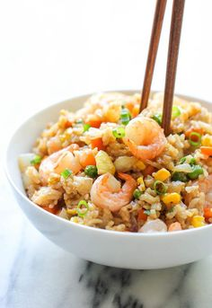 1. Shrimp Fried Rice #greatist http://greatist.com/eat/chinese-food-recipes