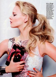 Marloes Horst For Allure Magazine, US, June 2014