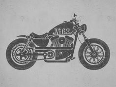 Motorcycle illustration by Patrick Carter