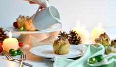 Rezept: Apfelstrudeltörtchen mit Vanillesauce #selbstgemacht #rezept #recipe #apfelstrudel #vanillesauce #apfel