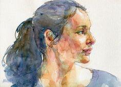Quick Sketch Portraits — Pam Wenger Watercolors
