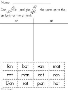 Friday Freebie: Short Vowel Word Sort {From iHeartLiteracy}