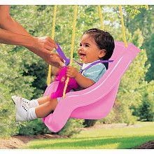 "Little Tikes 2-in-1 Snug N Secure Swing Pink - Little Tikes - Toys ""R"" Us"