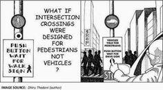 ceda el paso, Intersection crsssings (Author: Dhiru Thadani)