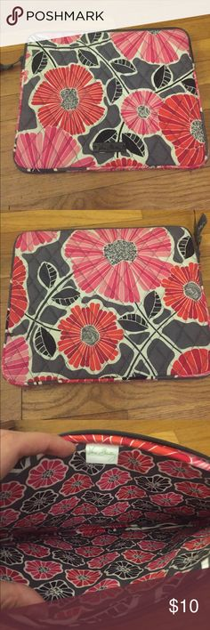 Vera Bradley iPad Case Gently used Vera Bradley iPad Case in Cherry Blossoms pattern Vera Bradley Accessories Tablet Cases