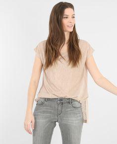 T-shirt ample brillant