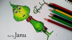 Hello Friends, Welcome back to my channel, The Grinch (also known as Dr. Seuss' The Grinch) is a 2018 animated Christmas comedy film produced by Illumination. Grinch Coloring Pages, Grinch Characters, Baby Grinch, The Grinch Movie, Grinch Who Stole Christmas, Baby Drawing, Disney Cartoons, Pencil Art, Diy Art