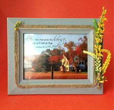 Quotable Art Picture Frame/Spiritual by HerFaveRitThings on Etsy