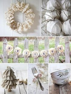 Vintage Style Decorating Ideas | Decoración navideñas | Ideas estilo vintage
