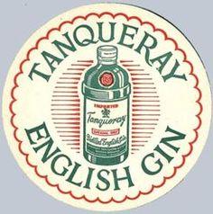 Tanqueray drink Coaster Beer Coasters, Cocktail Napkins, Chocolates, Gin, Barware, Festive, Advertising, Mugs, Drinks