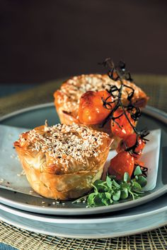 aubergine-and-cheesy-filo-stacks