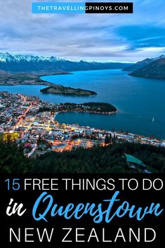 More Than 15 Free Things To Do In Queenstown New Zealand - The cosas gratis que hacer en queenstown nueva zelanda - the kostenlose aktivitäten in queenstown new zealand - the cose gratis da fare a queenstown in nuova zelanda - the Queenstown Gardens, Queenstown New Zealand, Wanaka New Zealand, New Zealand Itinerary, New Zealand Travel Guide, Lake Wakatipu, Lake Wanaka, Budget Travel, Australia Travel