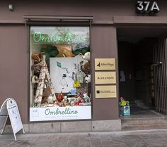 Ombrellino - lelukauppa Pohjoisesplanadilla