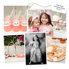 Princess Tea Party session ideas!  Don't forget the details - would make for a beautiful storyboard.