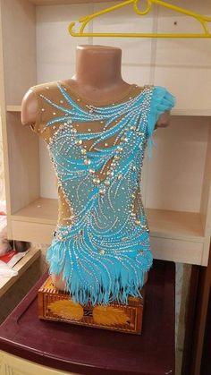 Elena Zhuravlyova's photos Gymnastics Suits, Gymnastics Costumes, Rhythmic Gymnastics Leotards, Dance Costumes, Figure Skating Outfits, Figure Skating Dresses, Salsa Outfit, Tango Dress, Latin Dance Dresses