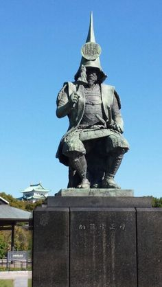 Nagoya Castle & Kiyomasa Kato, who is a warlord in the early EDO period.