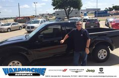 https://flic.kr/p/Jwx6zS | Happy Anniversary to Ronny on your #Nissan #Frontier from Danny Bledsoe at Waxahachie Dodge Chrysler Jeep! | deliverymaxx.com/DealerReviews.aspx?DealerCode=F068
