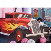 Hot Rod Pick Up Standee