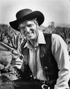 VERA CRUZ - Burt Lancaster on location in Mexico - Directed by Robert Aldrich - United Artists.