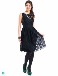 Rochie dantela creata Negru Formal Dresses, Fashion, Dresses For Formal, Moda, Formal Gowns, Fashion Styles, Formal Dress, Gowns, Fashion Illustrations